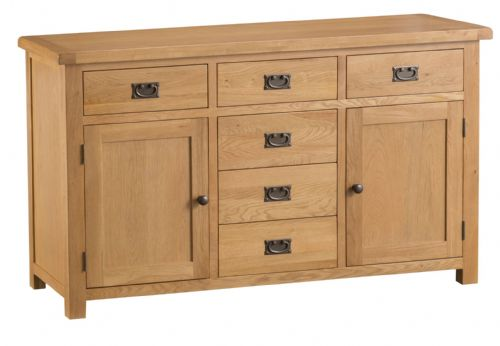 Cornish Oak Large Sideboard